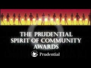 prudential spirit community service award